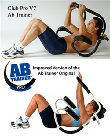Club Pro & Ab Trainer Pro Abdominal Trainers from Lifestyle Sports