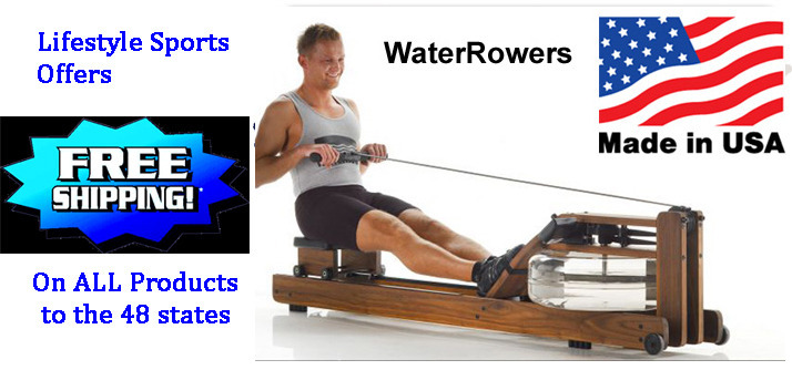Free Shipping on All Products - Click here to see our Made in USA Waterrowers