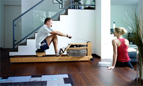 Water Rower - Fitness Furniture Made in USA