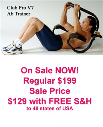 Club Pro Abdominal Trainers from Lifestyle Sports